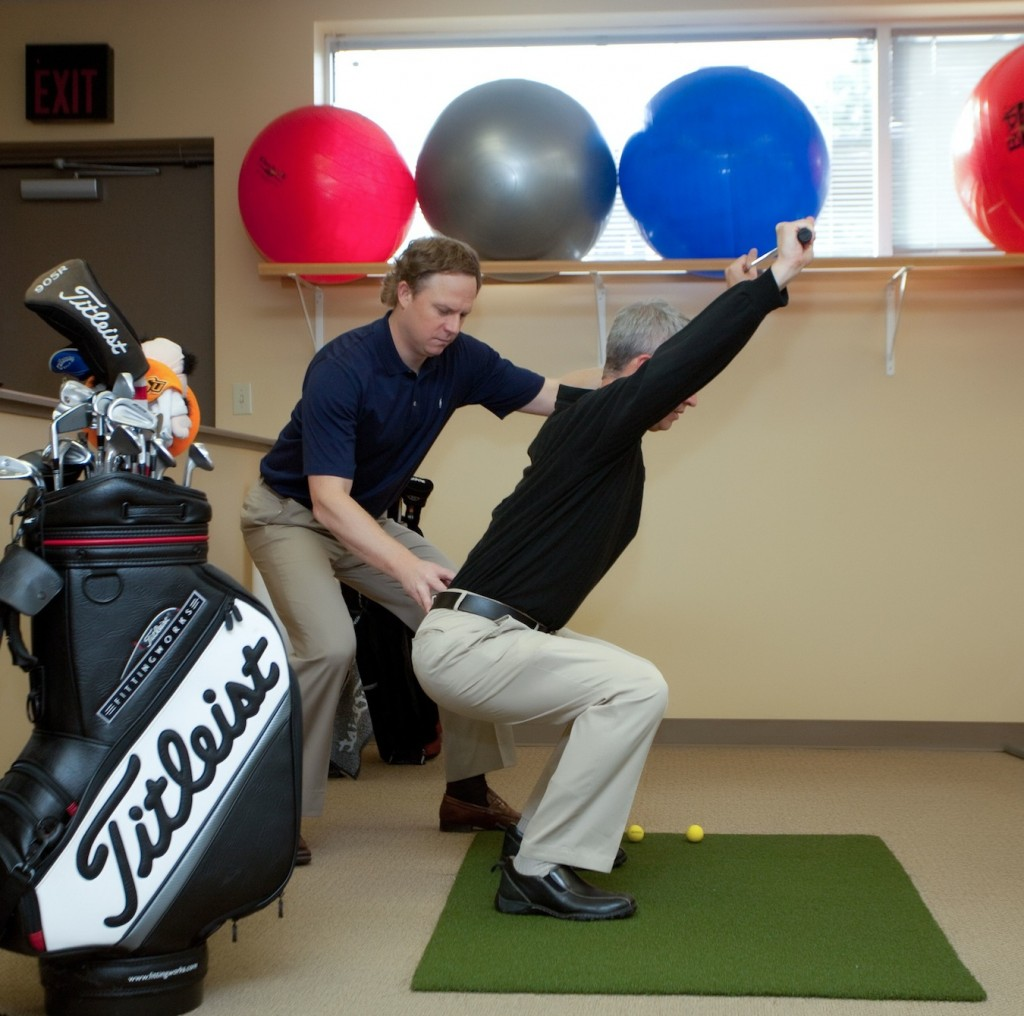 Sean Riley, DC - Certified Golf Fitness Instructor - Medical 2